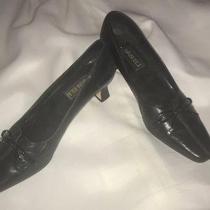 Vaneli Black Heels